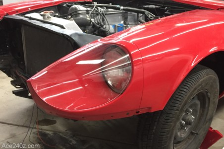 240z Headlight Covers