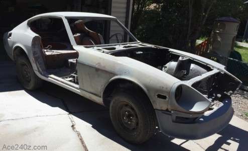 240z Ready for Paint
