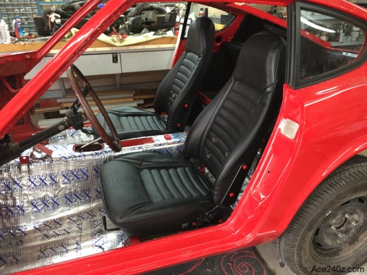 240z New Seat Covers
